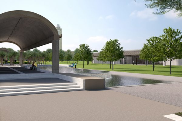 Kimbell-Portico Render_